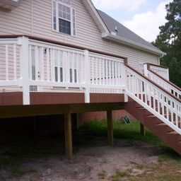 Low maintenance composite deck builder in Lexington SC