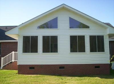 Sunroom addition in Hopkins, SC.