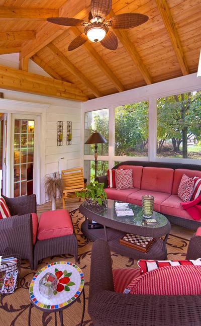Sunroom Sitting Area
