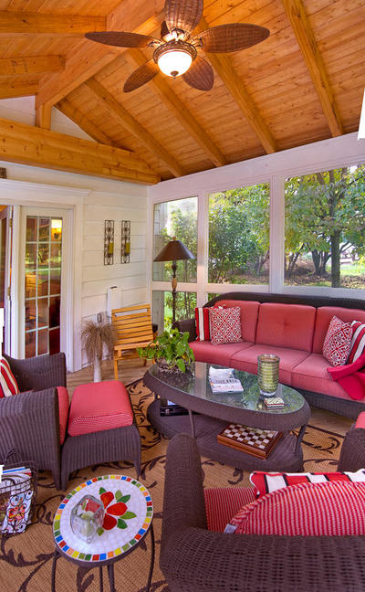 Sunroom Sitting Area
