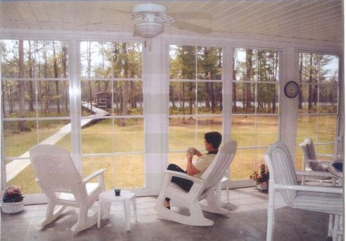 Imagine enjoying the view of the lake from your very own 3 or 4 season room by Archadeck of Central SC