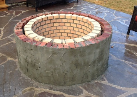 Fire pit construction in Columbia SC