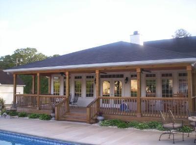 Open porch and sunroom combination in Elgin, S.C.