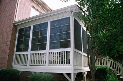 Elevated Screen Porch
