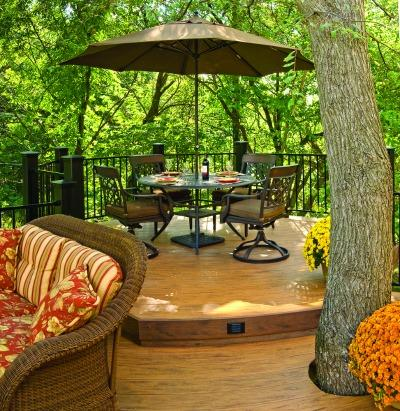 Process plays a key role in the success of your outdoor living project.