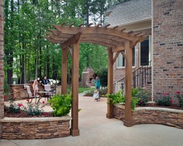Upscale outdoor living begins with Archadeck of Central SC.