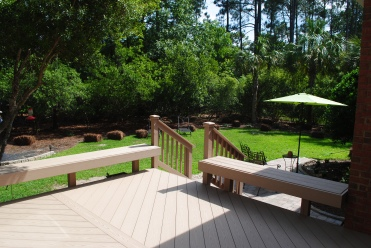 Beautifully detailed deck in NE Columbia, SC.