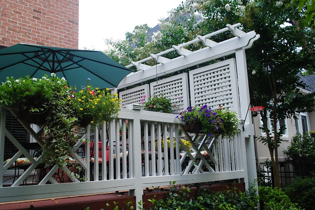 Columbia Sc Deck And Privacy Screen By Archadeck Of Central Sc