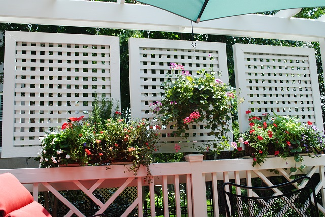 Columbia sc privacy deck builder custom decks porches for Outdoor deck privacy solutions