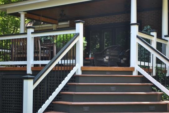 Bold colors and elegant details set this outdoor space apart Lexington SC