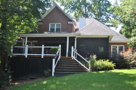 Lexington SC deck and porch combinations