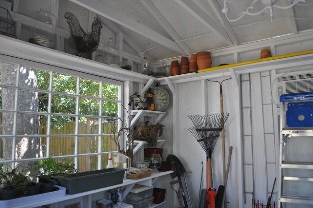 A place for everything and everything in it's place Garden shed in Columbia SC 2