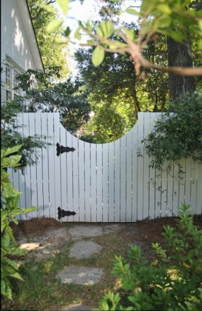 Custom garden gate by Archadeck of Central SC
