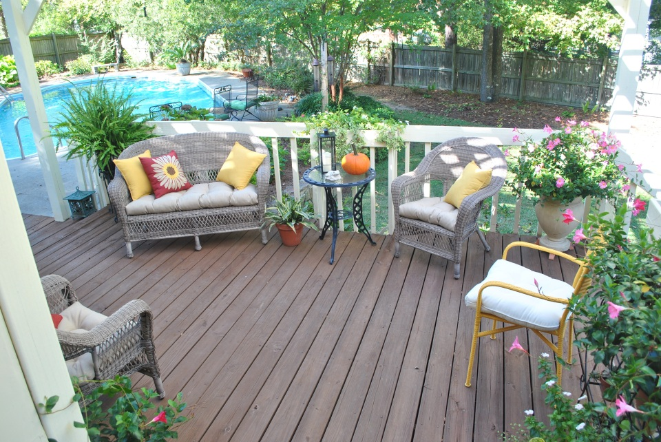 Deck revived by Renew Crew of Central SC