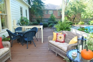 Irmo, SC,  deck gets a makeover and a new pergola addition