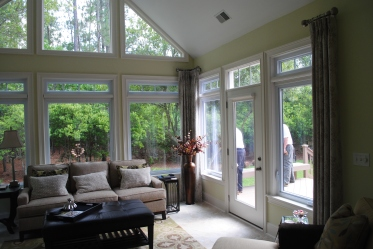 This spacious sunroom in Columbia, SC, delivers versatility within the home!