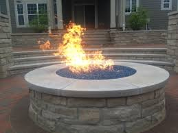 Central SC firepit in action