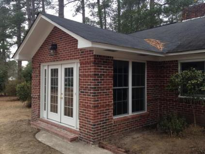 Forest Acres Entry Sunroom addition in Columbia SC