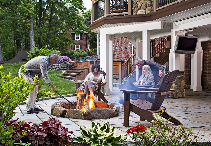 Columbia outdoor living spaces
