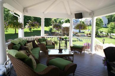 Archadeck covered porch outdoor living