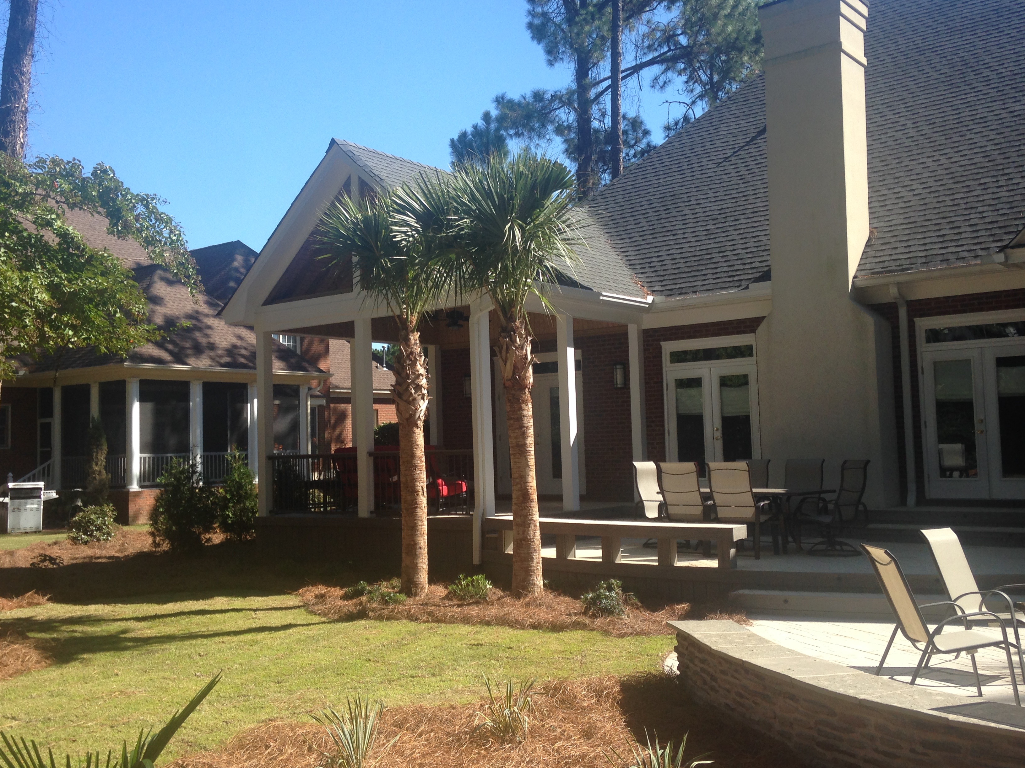 columbia sc outdoor fireplaces and fire pits custom decks