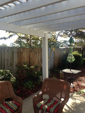 Aluminum Pergola Installation in West Columbia, SC
