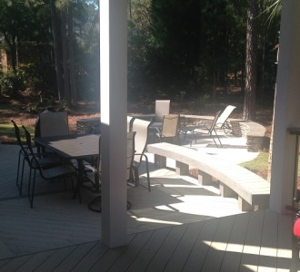 East Columbia Sc outdoor living combination space