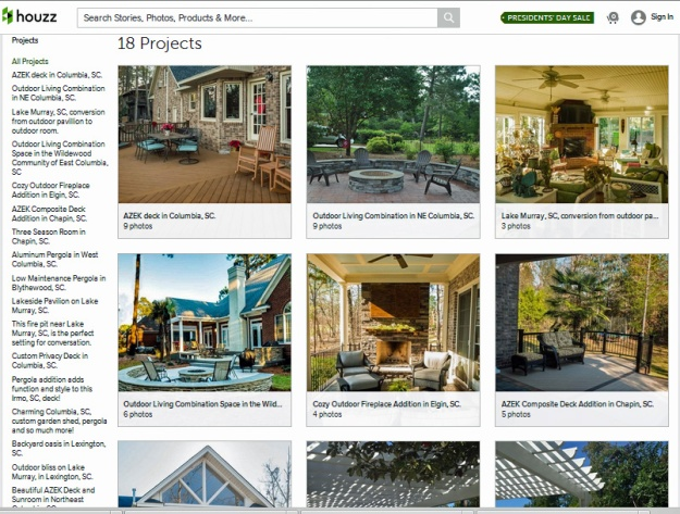 Archadeck of Central SC Houzz galleries