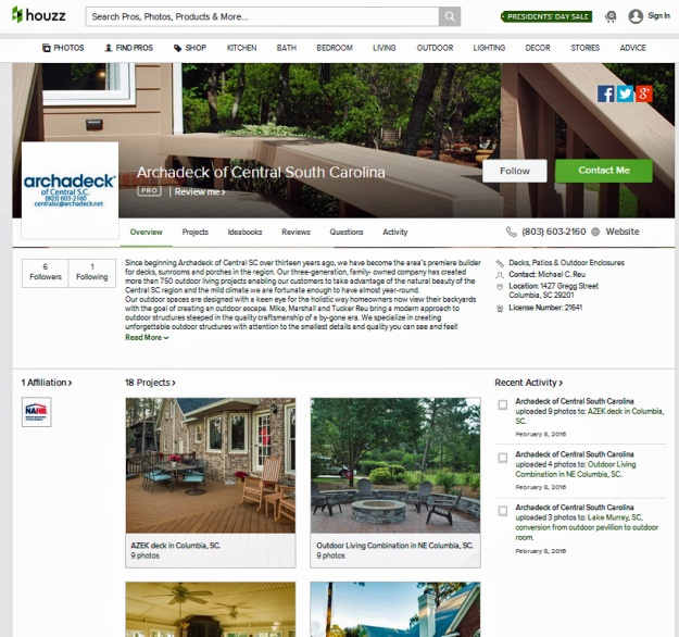 Archadeck of Central SC on Houzz