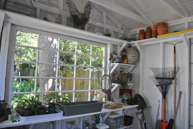 Custom garden shed in Columbia SC has a versatile interior