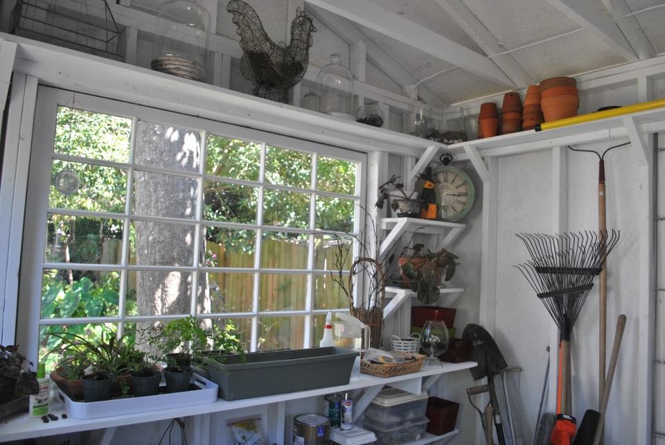 Custom garden shed in Columbia SC has a versatile interior