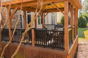 Custom pergola addition by Archadeck of Central SC