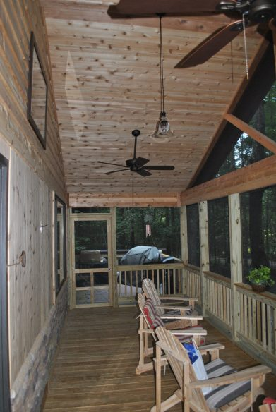 Little Mountain SC Screened Porch Builders