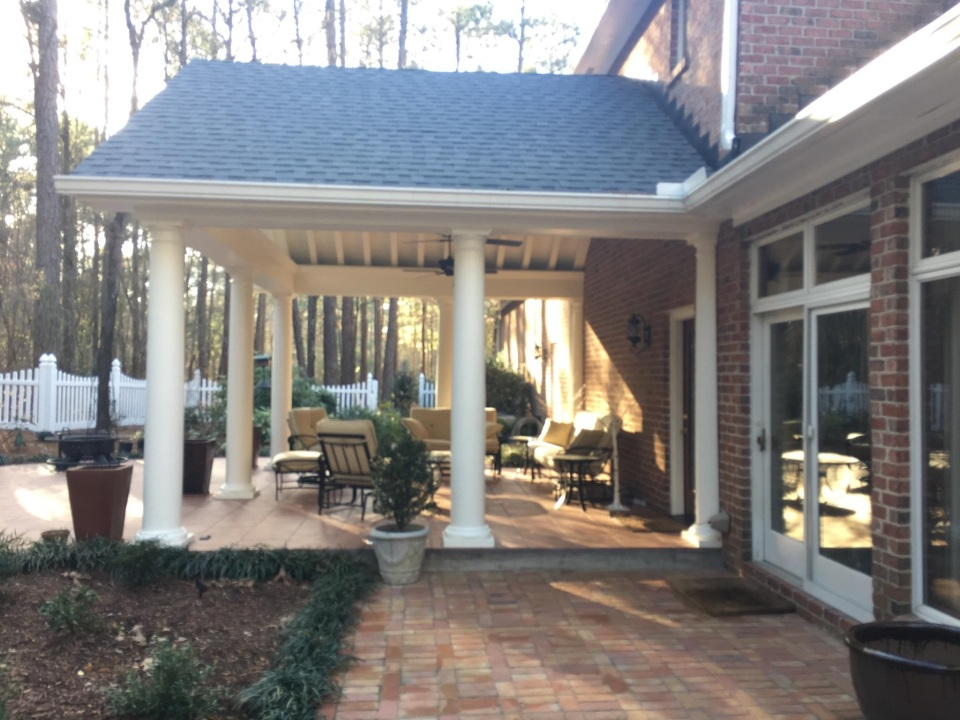 Elgin SC Covered Porch