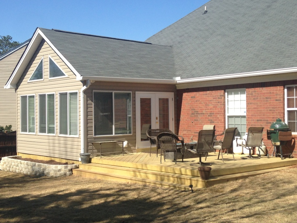 Irmo Deck and Sunroom