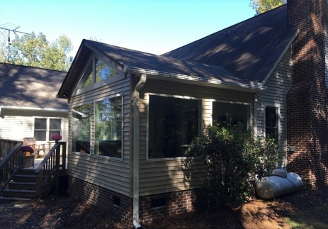 Exterior of Lexington SC Sunroom