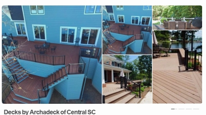 Decks By Arcahdeck of Central SC