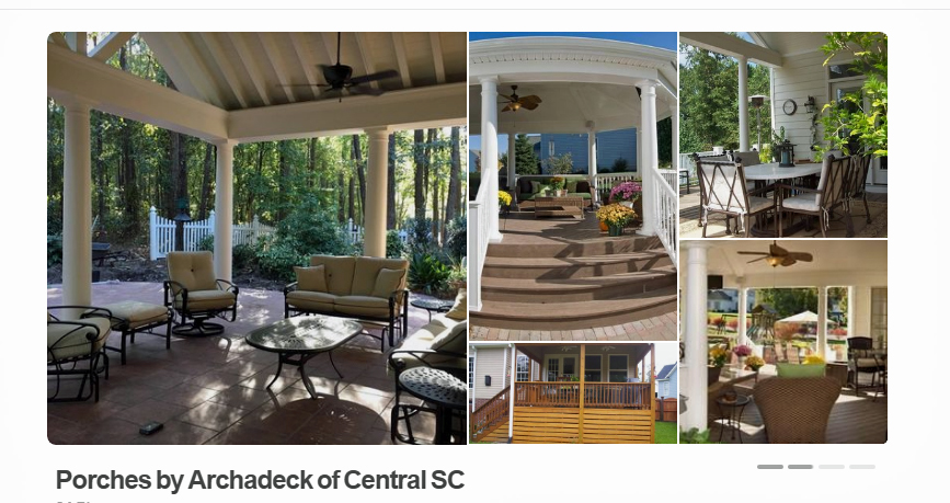 Porches by Archadeck of Central SC