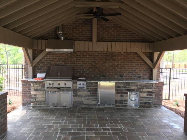 Sumter SC Outdoor Kitchen Builder