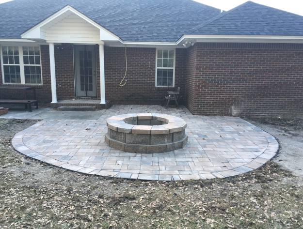 Sumter SC custom hardscapes