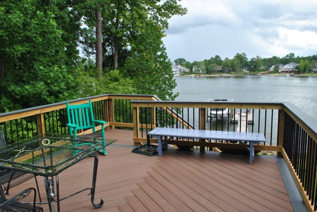 Trex deck on Lake Murray in Lexington SC